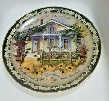 Glenna Kurz Collector Plate Bradford Exchange Welcome Home Small Miracles 1998