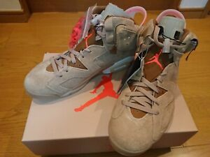 Travis Scott Nike Air Jordan 6 British Khaki DH0690-200 US 6 - 12 Men Authentic