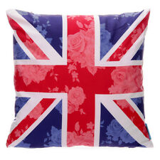 LAUREN BILLINGHAM CHINTZ UNION JACK PRINTED - CUSHION