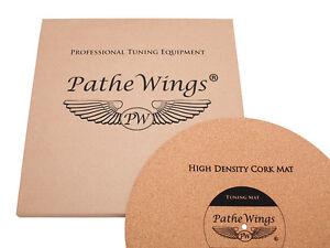 PatheWings Cork Turntable Record Mat Vinyl LP Audiophile Felt GERMANY 1mm !!
