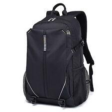 """Women Men Waterproof 14"""" 15.6"""" 17"""" Laptop Bag Computer School Business Backpack"""