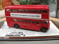 EFE 15628A/1 RM 2000 Farewell to London Transport - First version black banner
