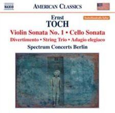 Toch: Violin Sonata No. 1, New Music