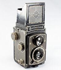 Art Deco Rolleicord I, Serial #1486797, Body # 027858, Triotar 4.5/7.5 cm