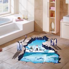 3D Penguin Vinyl Home Room Decor Art Wall Decal Sticker Bedroom Removable Mural