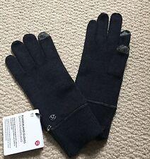 ❤️ Lululemon Runderland Gloves Merino Wool Size S Grey Tech Text