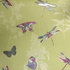 ARTHOUSE ENCHANTED WINGS FLORAL PATTERN BUTTERFLY DRAGONFLY MOTIF WALLPAPER CITR