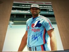 "Floyd Youmans Montreal Expos Signed 8"" x 10"" Baseball Photo W/Our COA"
