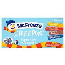 Mr Freeze Freeze Pops Super Size - 80 x 90ml