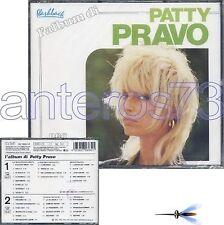 """PATTY PRAVO """"L'ALBUM DI"""" RARO BOX 2 CD RCA - FUORI CAT"""