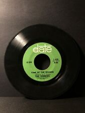 """The Zombies TIME OF THE SEASON (45RPM 7"""" Single) Date (J216)"""