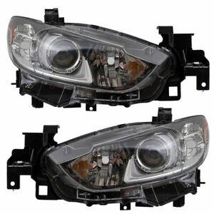Faros halógenos derecha completamente h1 Mazda 6 gg//Gy año 2005-2007