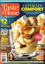 Taste of Home Magazine February/March 2017 Beer Cheese Soup Meat Loaf Taco Pizza