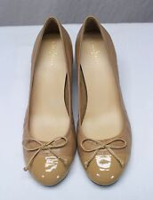 Cole Haan Patent Leather Cap Toe Wedges Shoes Size 11B
