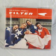 Filter - Take A Picture  - CD Single - Rare Cover