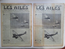 AILES 1934 694 MARTIN B-10 HANRIOT BLOCH SIKORSKY S-42 LONDRES MELBOURNE BENNETT