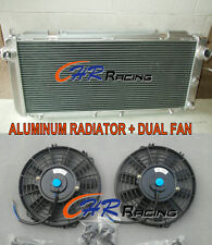 For Toyota MR2 SW20 2.0 REV1 REV2 REV3 TURBO N/A  Aluminum Radiator & 2 x Fans