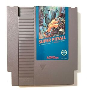 Super Pitfall ORIGINAL NES Nintendo Game Tested WORKING Authentic
