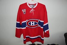 Montreal Canadiens NHL CCM Vintage Red Jersey XL NEW