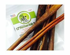 12 INCH MEDIUM THICK OR JUMBO Bully Sticks for Dogs Made in USA... Free Shipping