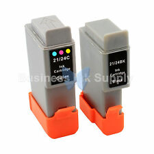 2 PACK BCI-24 NEW Ink for Canon PIXMA MP130 iP1500 iP2000 MultiPASS MP360 F20