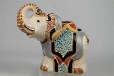 DeRosa Rinconada Family Adult Figurine NEW-2014  'Jaipur Elephant'  #F168 NIB