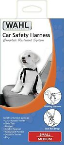 WAHL Pet Safety 2 in 1 Small Dog Adjustable Car Seatbelt & Walking Harness