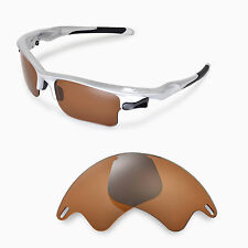 WL Polarized Brown Replacement Lenses For Oakley Fast Jacket XL Sunglasses