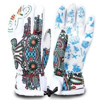 Gloves Waterproof Winter Ski Warm Snow Sport Thermal Windproof Outdoor Men Women