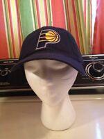 Nba Indiana Pacers Blue Gold P Baseball Basketball Hat Ball Cap Strap back