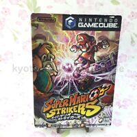 USED Gamecube Super Mario Strikers 12724 JAPAN IMPORT