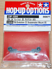 Tamiya 53688 TB Evolution III Suspension Mount (E), (TB Evo 3/TB02/TRF415) NIP