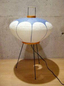 Isamu Noguchi Akari 9AD Floor Stand Lamp Washi Japanese Paper Light JAPAN NEW