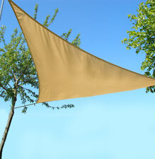 Triangle Water Resistant Shade Sail Sun Canopy Patio Awning 96/% UV Block