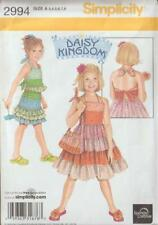 Daisy Kingdom Simplicity Sewing Pattern 2994 Girls Dress Top Skirt Purse S3 - 8