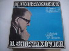 D.SHOSTAKOVICH - Collected Works:Katerina Izmaylova/The Nose BOX 6LPs