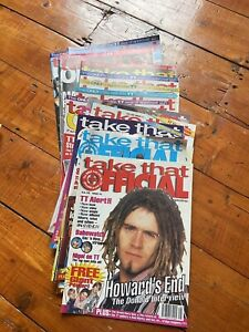 Take That Official Magazines Issues 1-16 With Posters