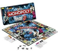 THE ROLLING STONES MONOPOLY WINNING MOVES US EDITION  NEU TOP