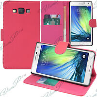 Etui Coque Housse Portefeuille Video ROSE Samsung Galaxy A5 / A5 Duos SM-A500F
