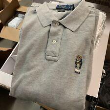 Polo Ralph Lauren Bear T Shirt Classic Fit Men's Large Gray