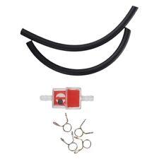 Motorrad Roller 6mm Gas Inline Kraftstofffilter W / Benzinleitung Schlauch Li J1