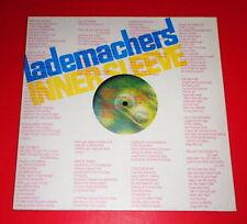 Lademachers-Innersleeve -- LP/Rock