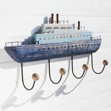 Ocean Liner Ship Wall Hooks | Coastal Style Decoration