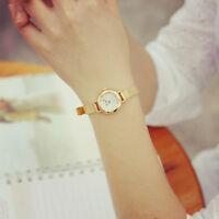 Luxury Women Quartz Analog Wrist Watch Bracelet Fashion Dress Gold Watches Gift