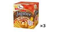 Calbee Jagabee Potatoes Butter soy sauce taste 80g x 3pcs