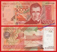 VENEZUELA 50000 Bolivares 1998 Pick 83 UNC