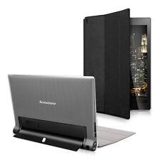SLL Smart Cover per Lenovo Yoga Tablet 2 10 1050 NERO PROTEZIONE ECOPELLE