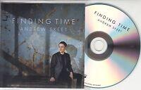 ANDREW SKEET Finding Time 2015 UK 10-track promo test CD Divine Comedy