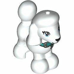 LEGO Friends Baby Poodle Dog Animal Minifigure (White)