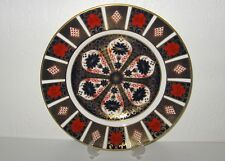 ROYAL Crown Derby Old Imari 1128 Dinner Plate New With Label